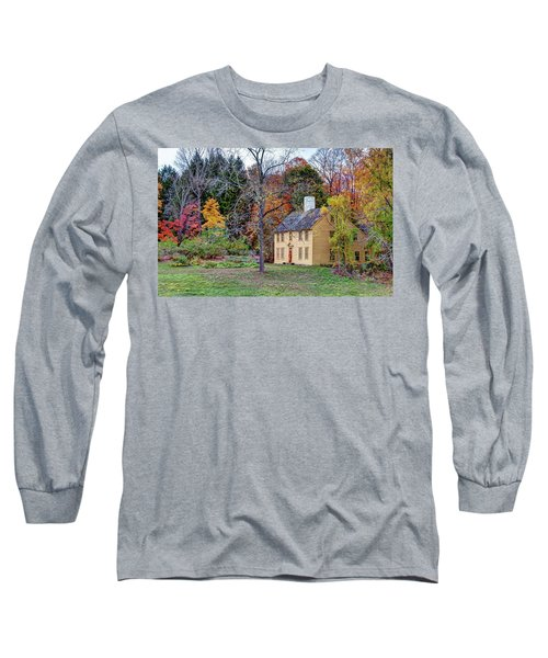 Parson Barnard House In Autumn Long Sleeve T-Shirt