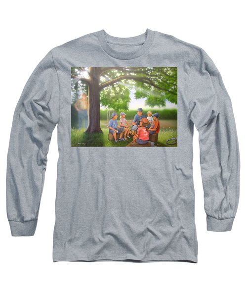 Pass It On - Baseball Long Sleeve T-Shirt