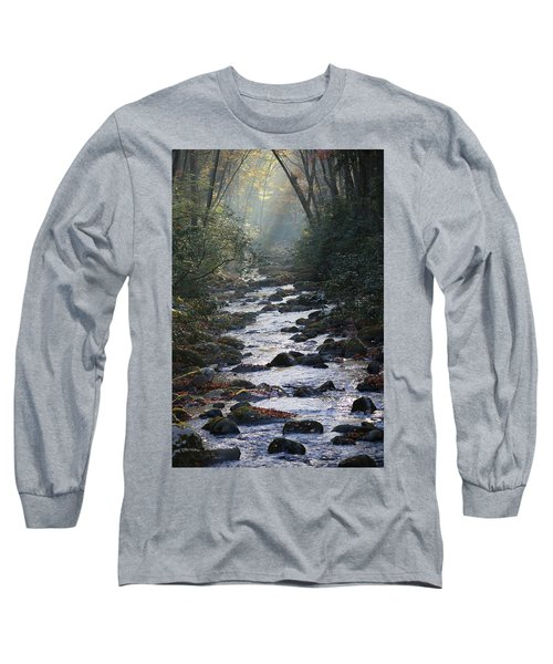Passage Of Time Long Sleeve T-Shirt by Lamarre Labadie