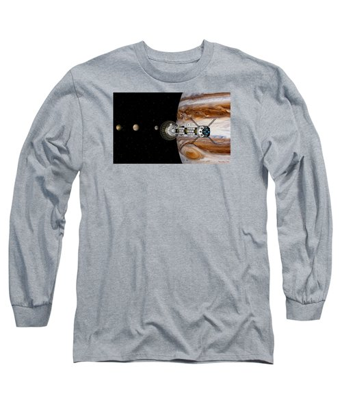 Long Sleeve T-Shirt featuring the digital art Passing The Storm by David Robinson