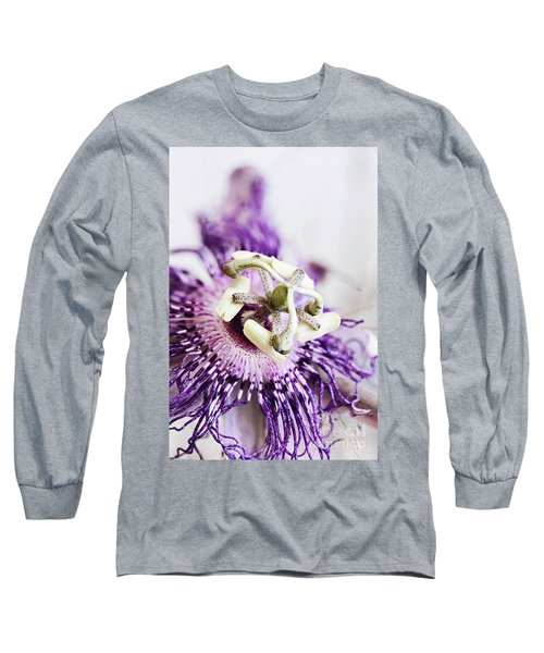 Passion Flower Long Sleeve T-Shirt by Stephanie Frey