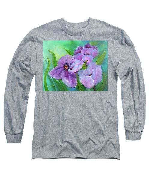 Passionate Tulips Long Sleeve T-Shirt