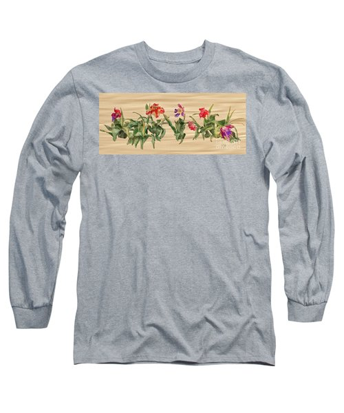 Long Sleeve T-Shirt featuring the digital art Past Prime by Lois Bryan