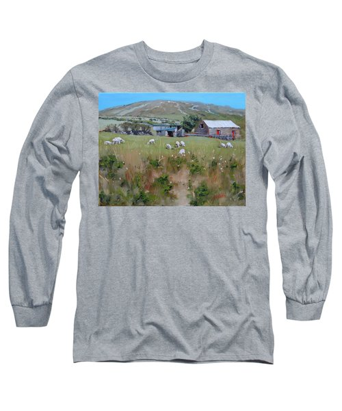Pastures Of Ireland Long Sleeve T-Shirt