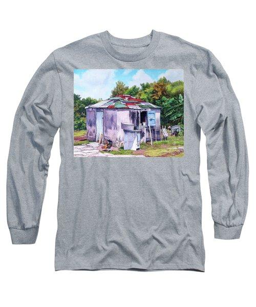 Cat Island Patch Long Sleeve T-Shirt