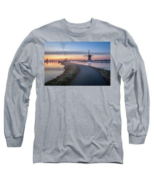 Path Through Windmill City Long Sleeve T-Shirt