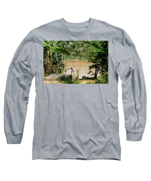 Path To The Amazon River Long Sleeve T-Shirt