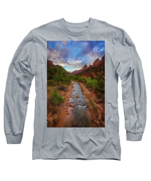 Long Sleeve T-Shirt featuring the photograph Path To Zion by Darren White
