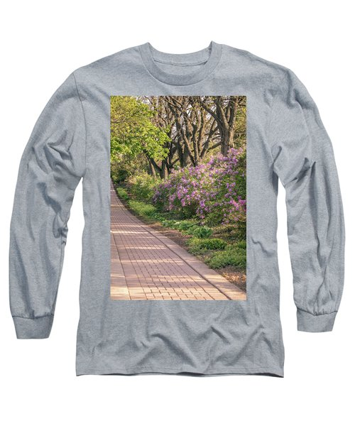 Pathway To Beauty In Lombard Long Sleeve T-Shirt