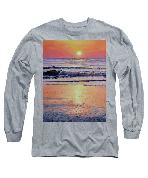 Pathway To Dawn - Outer Banks Sunrise Long Sleeve T-Shirt