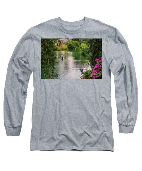 Long Sleeve T-Shirt featuring the photograph Patria Paradisi. by Arik Baltinester