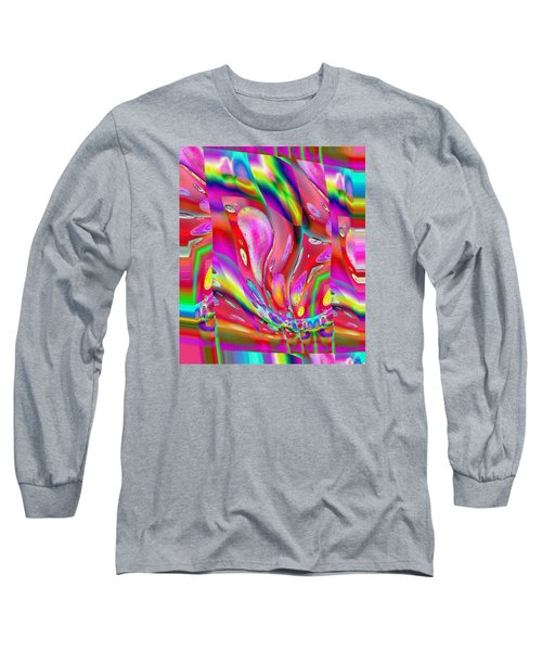 Pattern 318 _ Push Long Sleeve T-Shirt