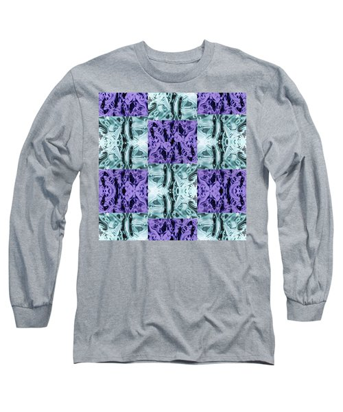 Ultra Violet  And Water  Long Sleeve T-Shirt