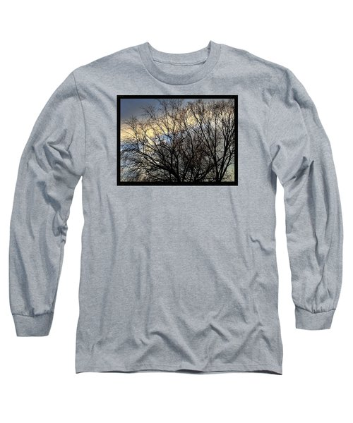 Patterns In The Sky Long Sleeve T-Shirt by Frank J Casella