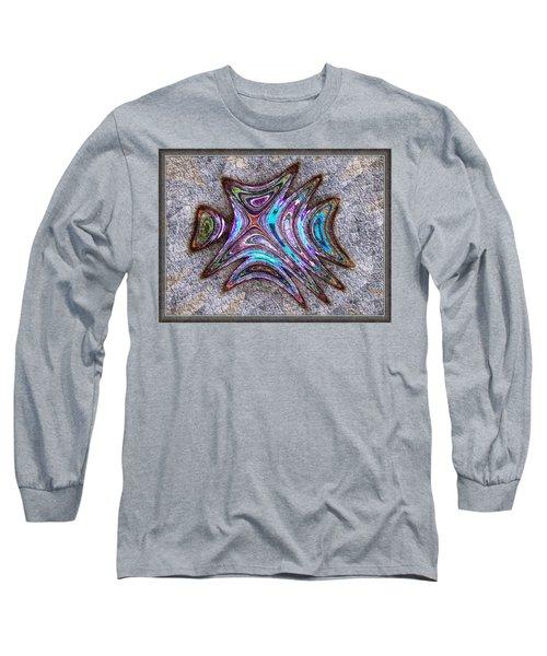 Paua Medallion Long Sleeve T-Shirt