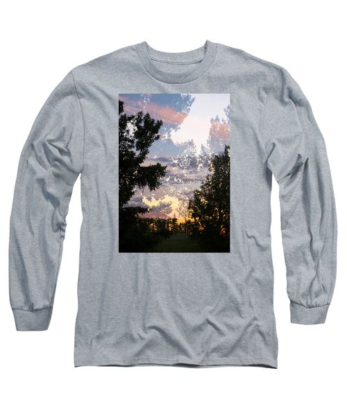 Paynotn Sunset Long Sleeve T-Shirt by Ellery Russell