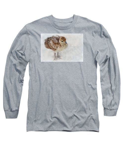 Pea Chick Cuteness Long Sleeve T-Shirt