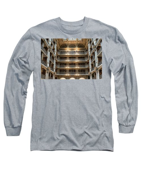 Peabody Library Long Sleeve T-Shirt