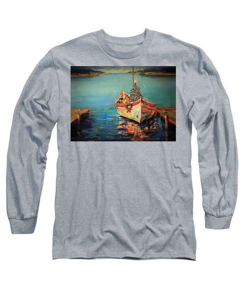 Peace At Christmas Long Sleeve T-Shirt