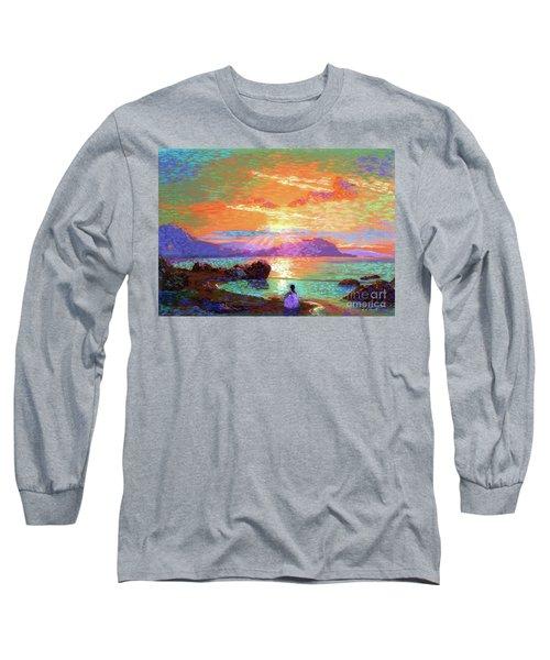 Peace Be Still Meditation Long Sleeve T-Shirt