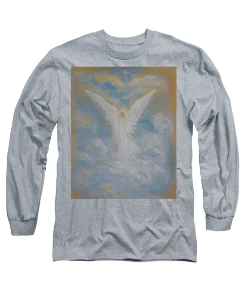 Peace From An Angel  Long Sleeve T-Shirt