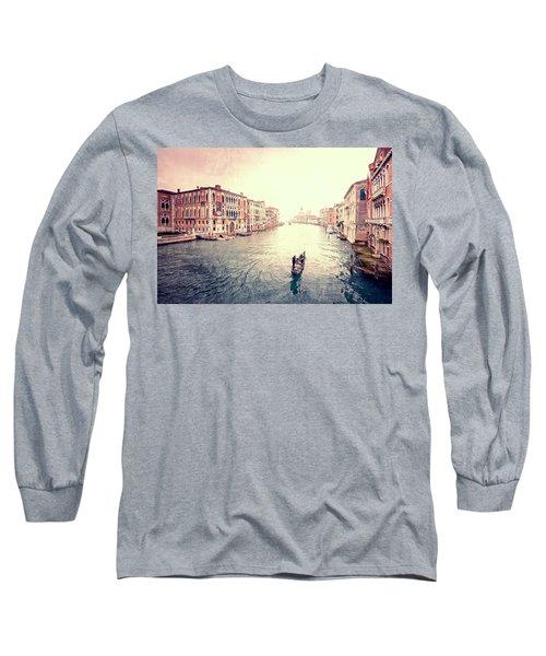 Peace In Venice Long Sleeve T-Shirt