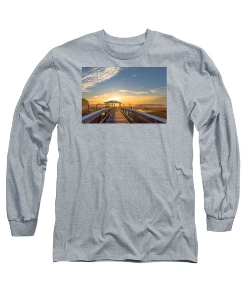 Long Sleeve T-Shirt featuring the photograph Peace by Margaret Palmer