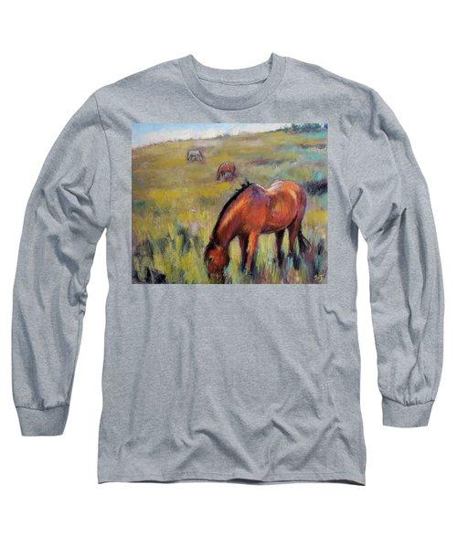 Peace On The Mountain Long Sleeve T-Shirt