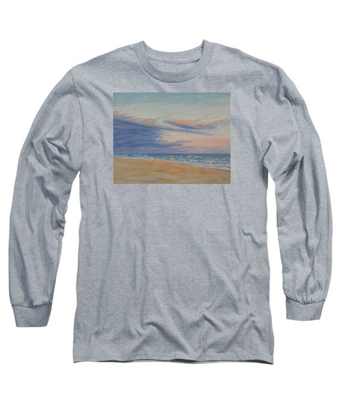 Long Sleeve T-Shirt featuring the painting Peaceful by Joe Bergholm