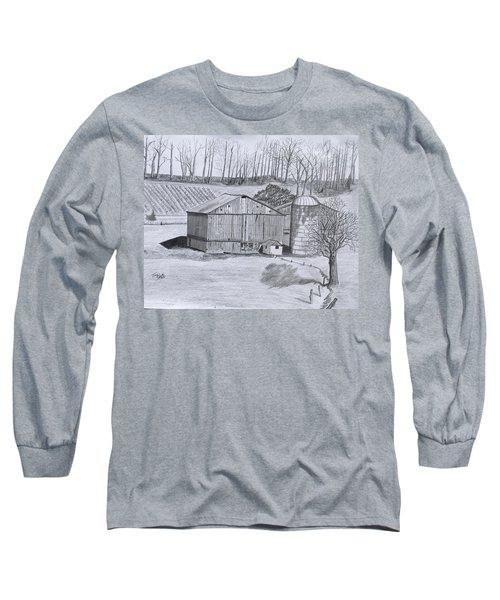 Peaceful Setting  Long Sleeve T-Shirt by Tony Clark
