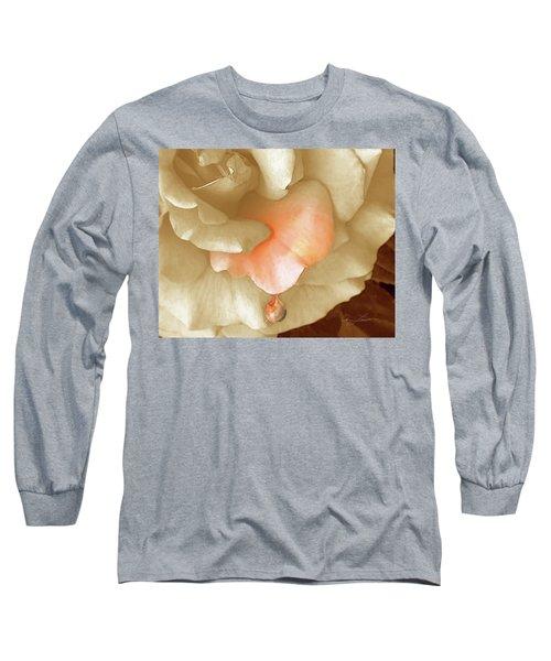 Peach Morning Long Sleeve T-Shirt