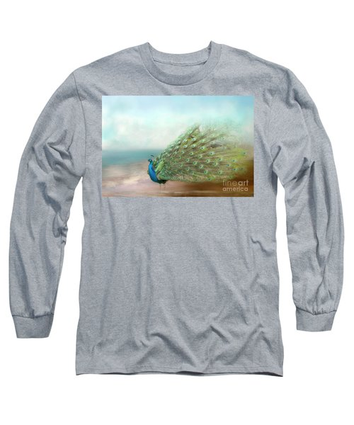 Peacock Beauty Long Sleeve T-Shirt
