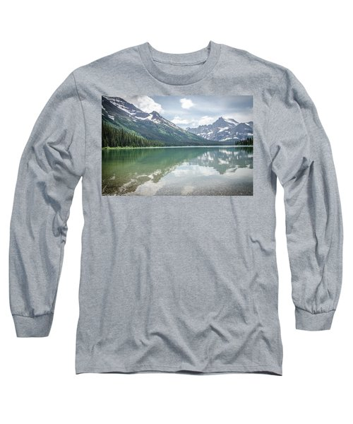 Peaks At Lake Josephine Long Sleeve T-Shirt