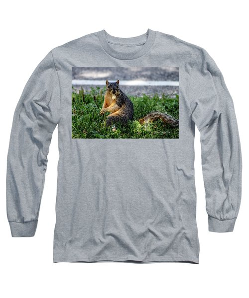 Long Sleeve T-Shirt featuring the photograph Peanut by Joann Copeland-Paul
