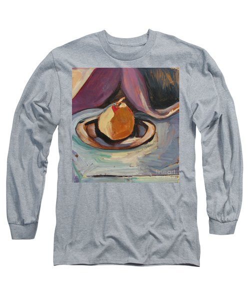 Pear Long Sleeve T-Shirt by Daun Soden-Greene