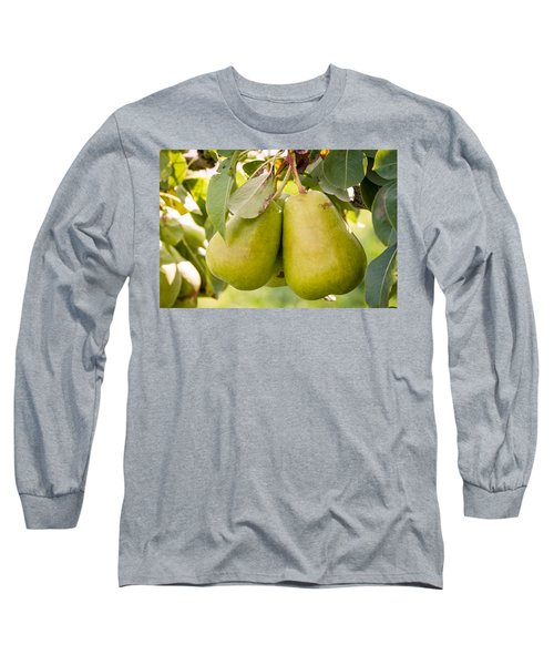 Pears In The Tree Long Sleeve T-Shirt