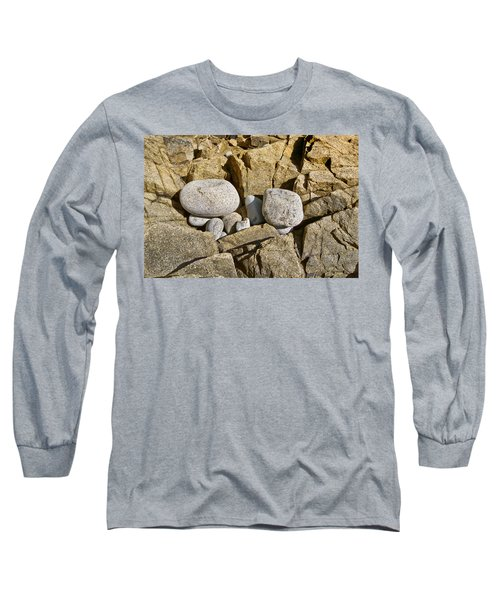 Long Sleeve T-Shirt featuring the photograph Pebble Pocket Photo by Peter J Sucy