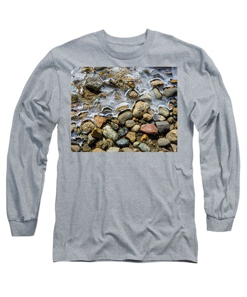 Pebbles And Ice Long Sleeve T-Shirt