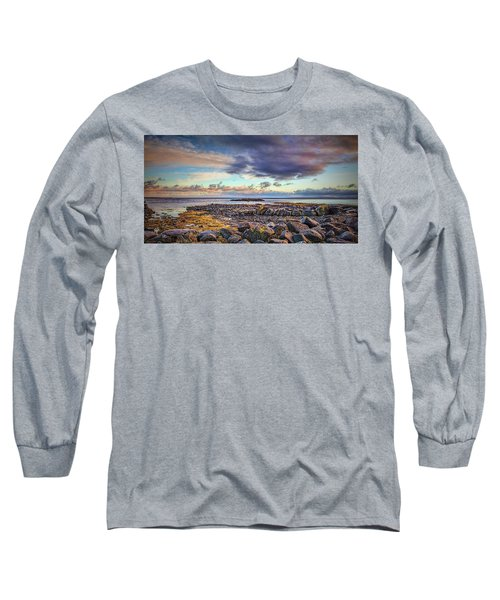 Pebbles And Sky  #h4 Long Sleeve T-Shirt