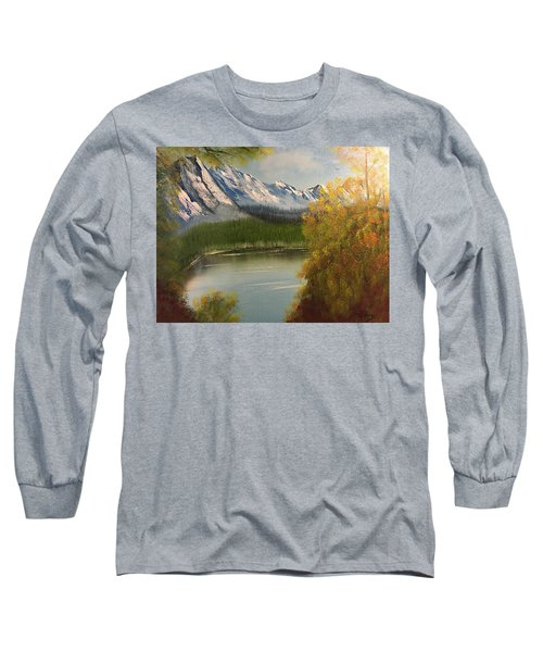 Peek-a-boo Mountain Long Sleeve T-Shirt