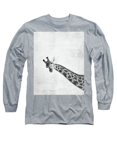 Peekaboo Giraffe Long Sleeve T-Shirt