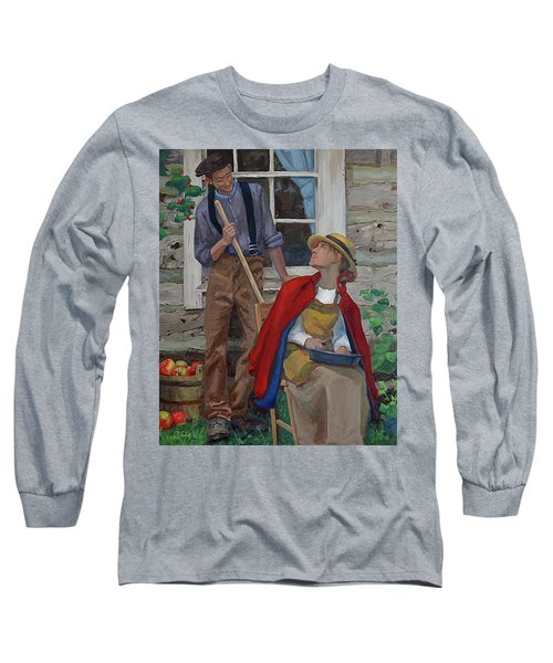Peeling Apples Long Sleeve T-Shirt