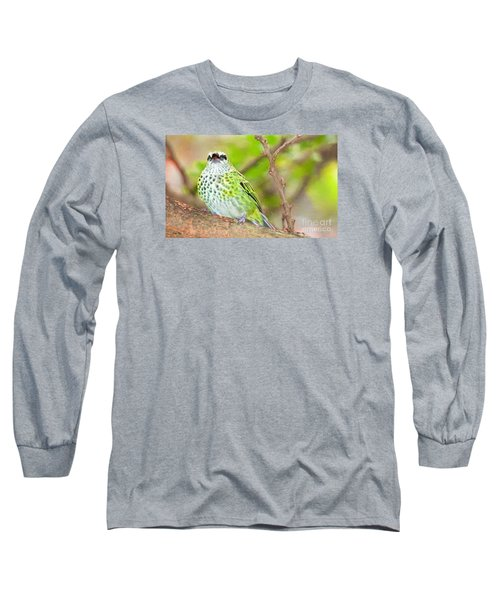 Long Sleeve T-Shirt featuring the photograph Peep by Judy Kay