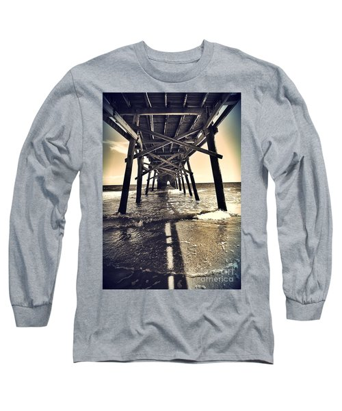Peir View  Long Sleeve T-Shirt by Christy Ricafrente