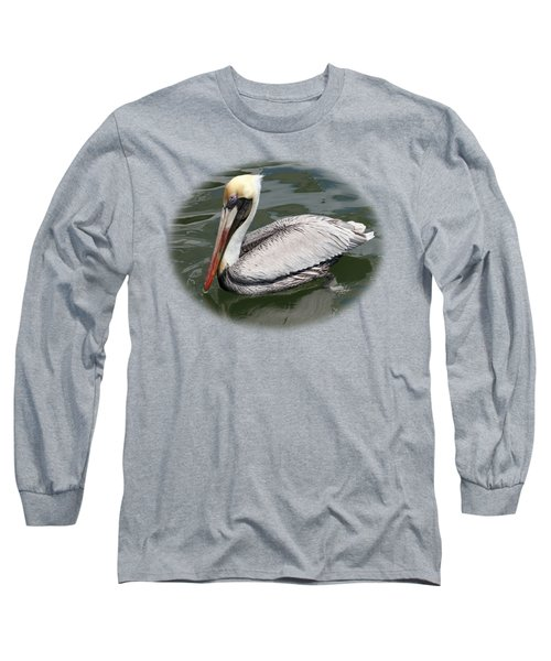 Pelican 3 Vignette Long Sleeve T-Shirt by Bob Slitzan