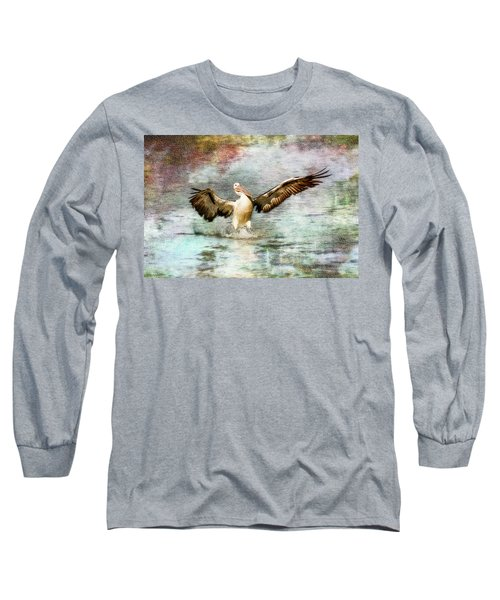Pelican Art 00174 Long Sleeve T-Shirt by Kevin Chippindall