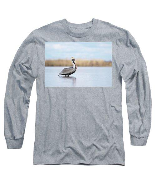 Pelican In Paradise Long Sleeve T-Shirt