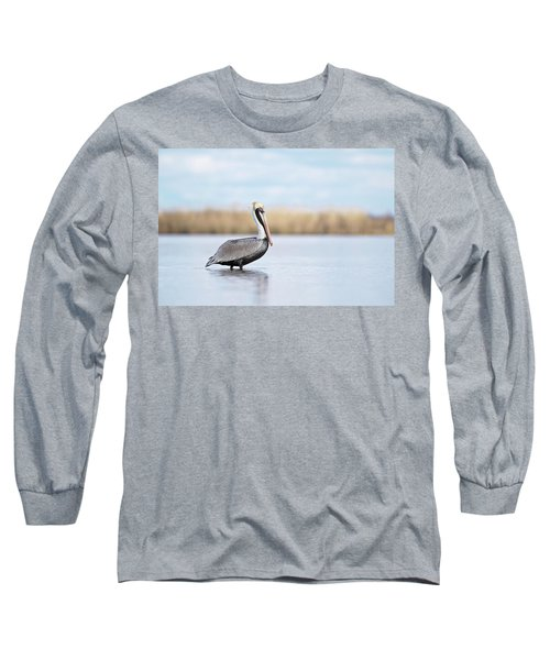 Pelican In Paradise Long Sleeve T-Shirt