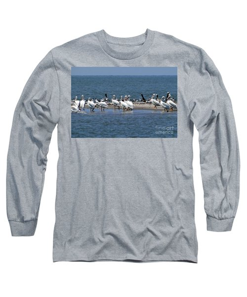 Pelicans Island Long Sleeve T-Shirt