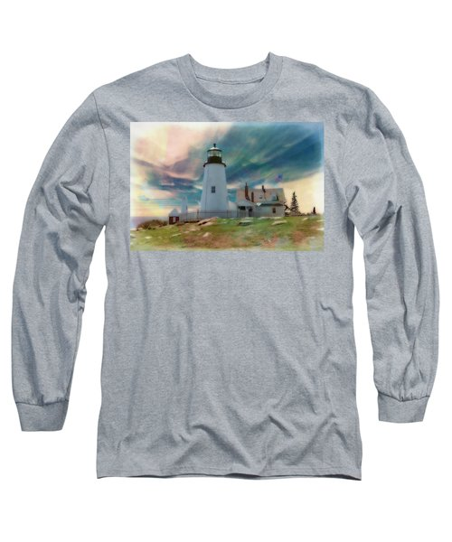 Pemaquid Lighthouse,maine Long Sleeve T-Shirt